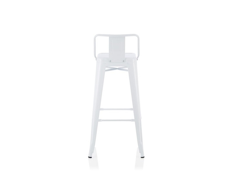 Serene Furnishings Aliza (Set of 4) White Bar Stool Image0 Image