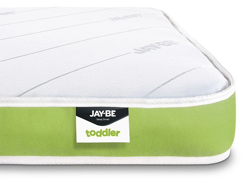 JAY_BE Toddler Anti-Allergy Foam Free Sprung 2\'3 x 5\' Special Size Mattress Image0 Image