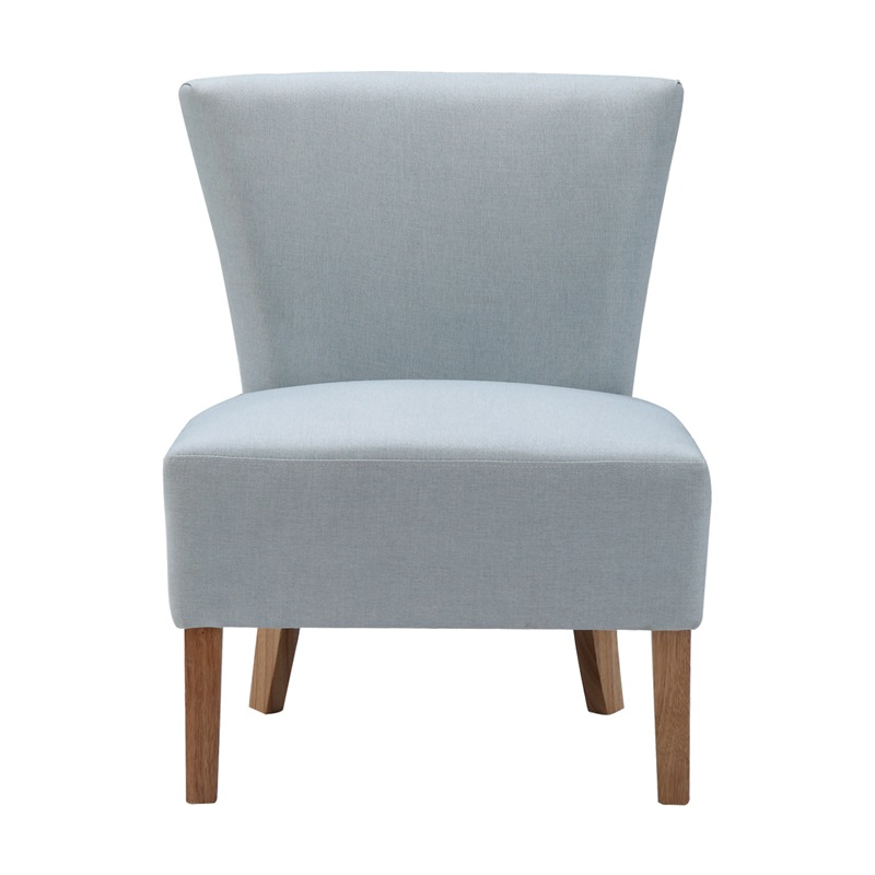 LPD Furniture Austen Chair Duck Egg Blue Accent Chair Image0 Image