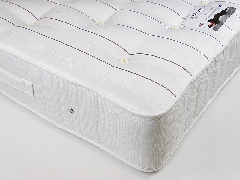 Sleepeezee Backcare Deluxe 1000 4\' 6 Double Mattress Image0 Image