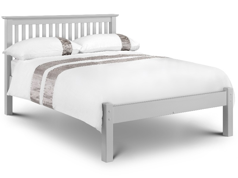 Barcelona Bed Low Foot End - Dove Grey Image0 Image
