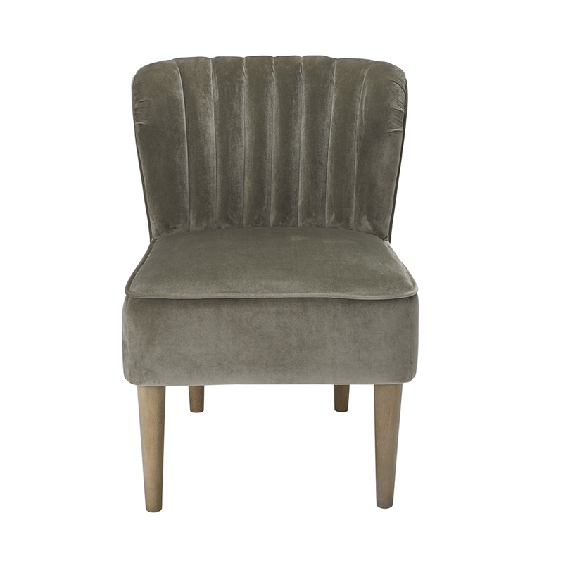 LPD Furniture Bella Chair Steel Grey Accent Chair Image0 Image