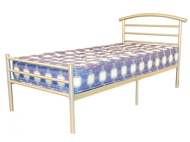 Snuggle Beds Brenington 4\' 6 Double Metal Bed Image0 Image