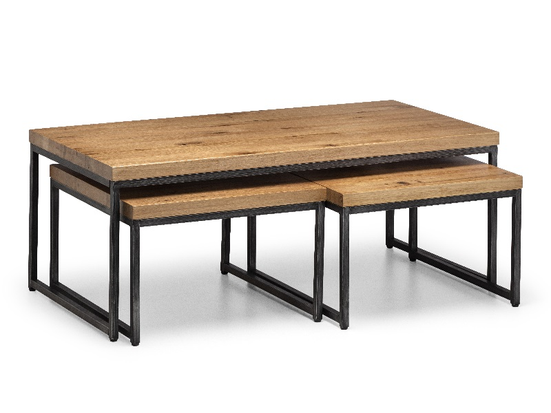 Brooklyn Oak Nesting Coffee Tables Image0 Image