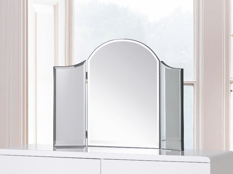 Canto Curved Dressing Table Mirror Image0 Image