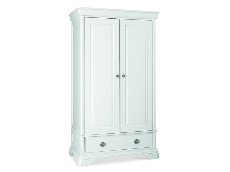 Chantilly White Double Wardrobe Main Image