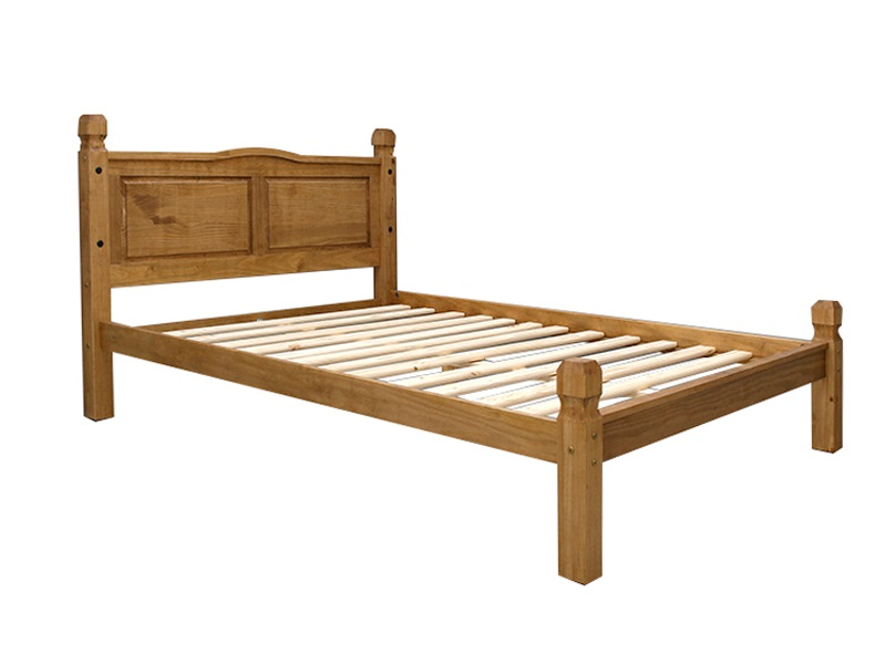 Snuggle Beds Corona Low End 2020 4\' 6 Double Wooden Bed Image0 Image