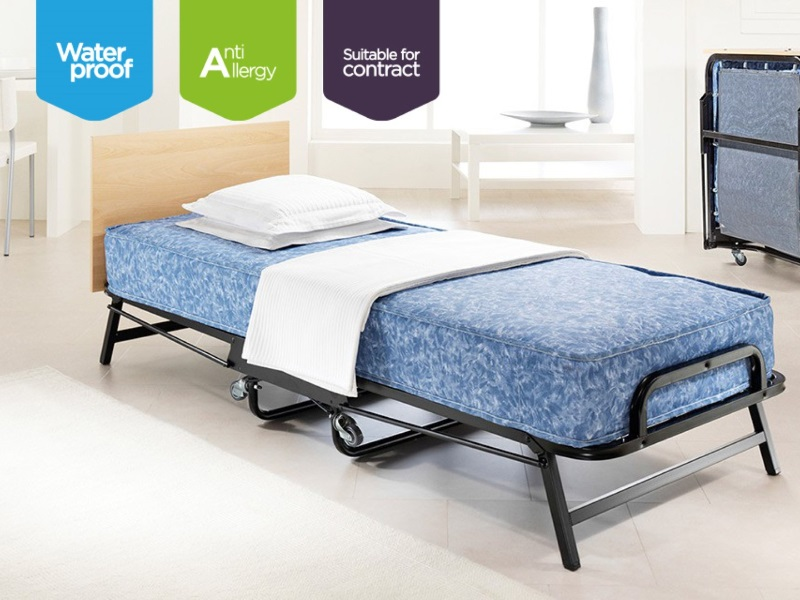 Crown Windermere Folding Bed with Waterproof Deep Sprung Mattress Image0 Image
