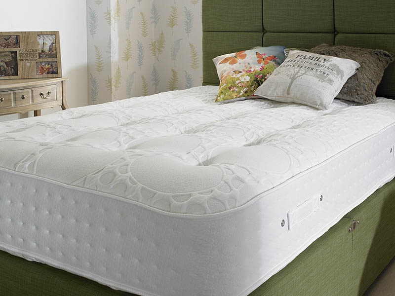 Shire Beds Eco Grand 4\' 6 Double Pocket Sprung Mattress Mattress Image0 Image
