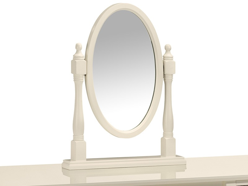 Josephine Oval Dressing Table Mirror Main Image