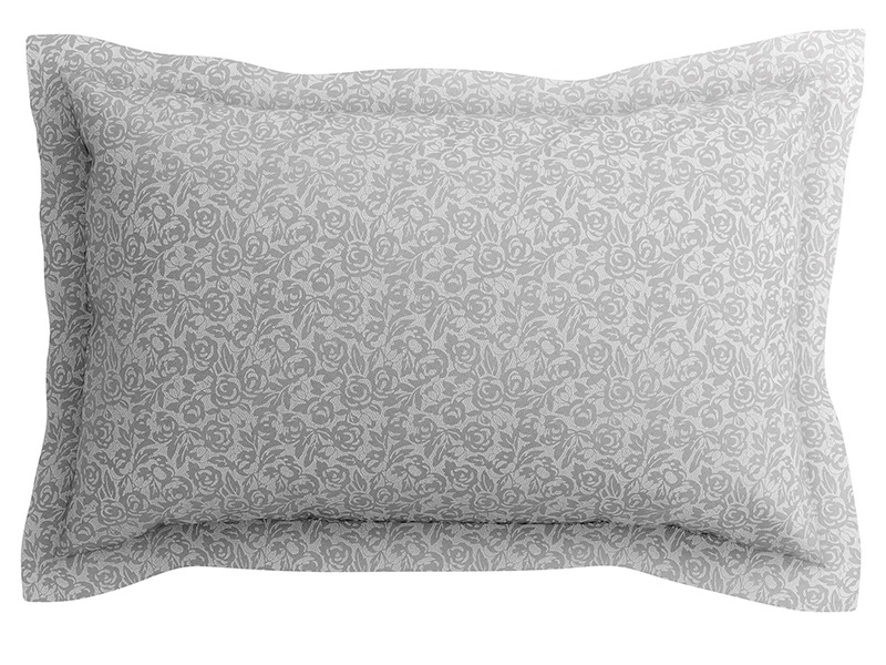 Etta Oxford Pillowcase Dove Grey Main Image