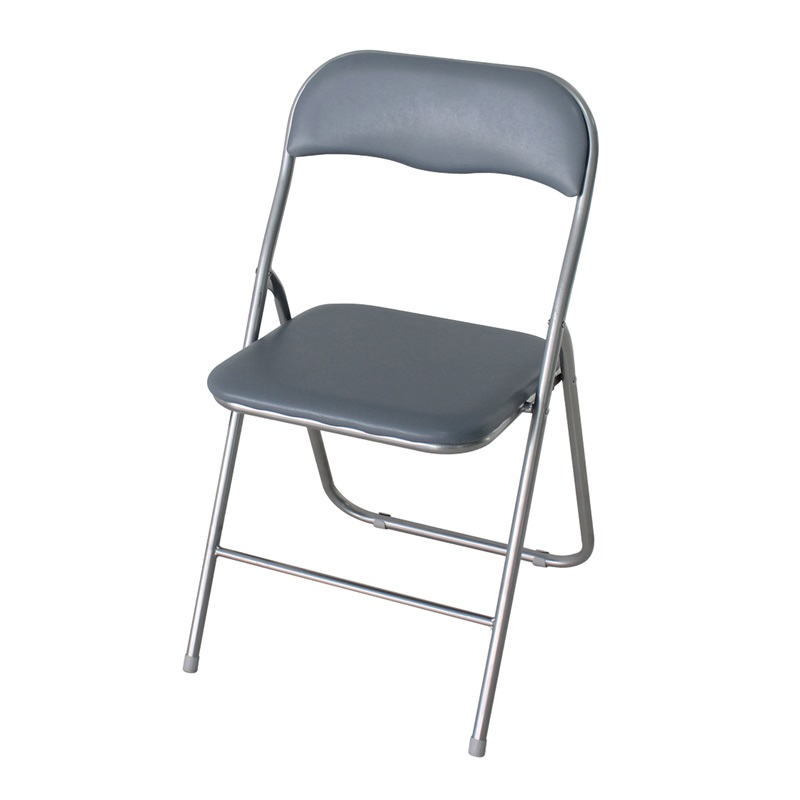 Folding Computer Chair Silver Image0 Image