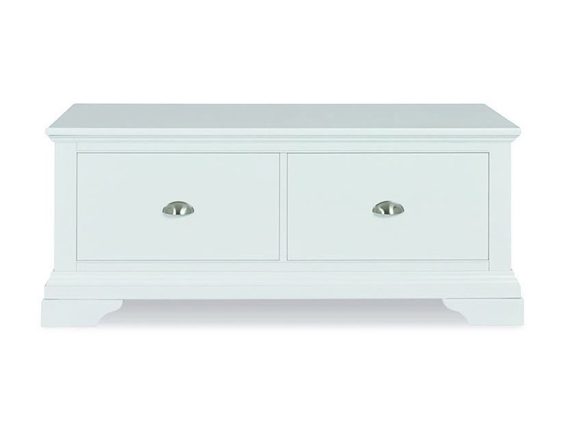 Bentley Designs Hampstead Blanket Box White Blanket Box Image0 Image