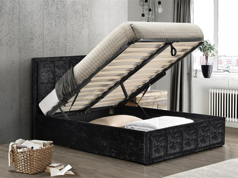 Hannover Fabric Ottoman Bed Main Image
