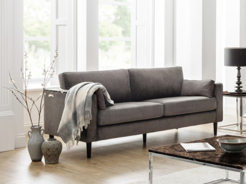 Hayward Velvet Grand 3 Seater Sofa Image0 Image