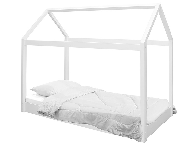 Hickory House Bed White Main Image