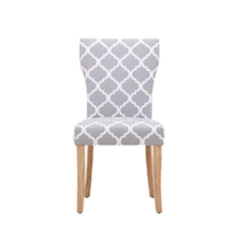 LPD Furniture Hugo Dining Chair Patterned (2PK) 2\' 6 Small Single Dining Chair Image0 Image