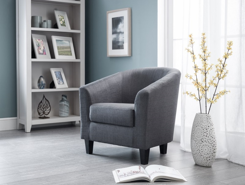 Hugo Tub Chair - Slate Grey Image0 Image