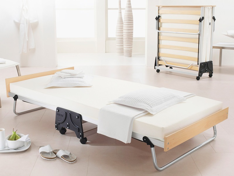 JAY_BE J-Bed Folding Bed with Memory e-Fibre Mattress 3\' Single Guest Bed Folding Bed Image0 Image