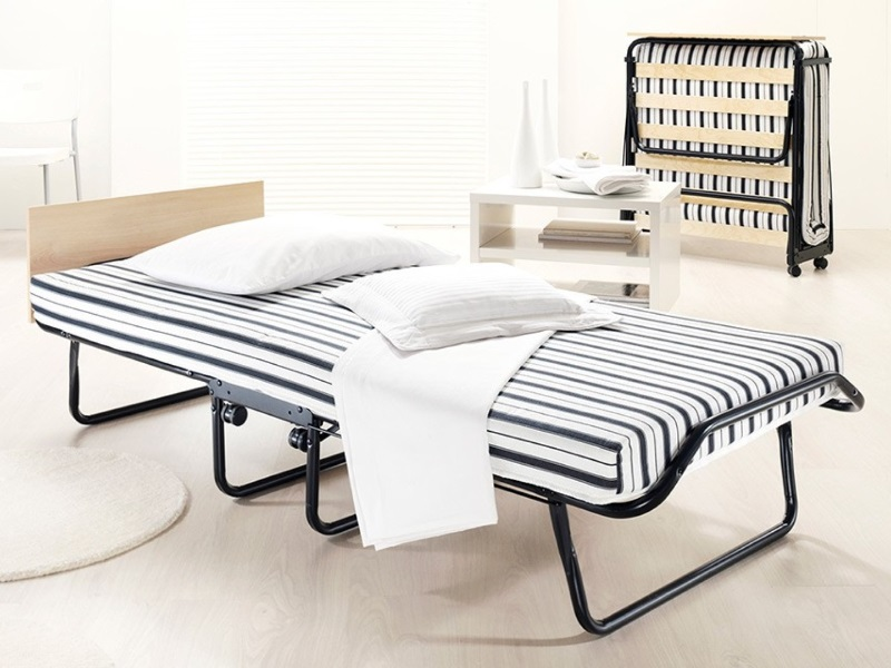 JAY_BE Jubilee Folding Bed with Rebound e-Fibre Mattress 2\' 6 Small Single Folding Bed Image0 Image