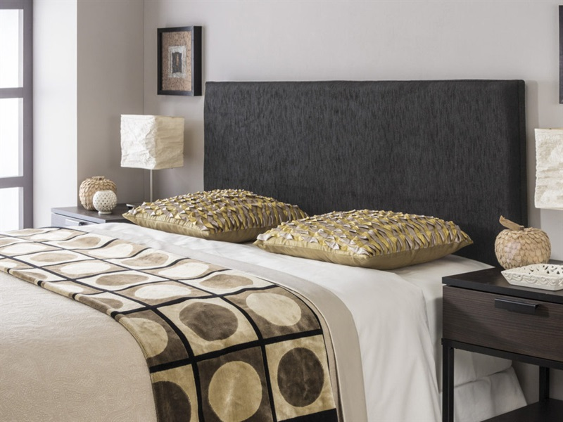 Swanglen Luxor Strutted Double Fabric Headboard