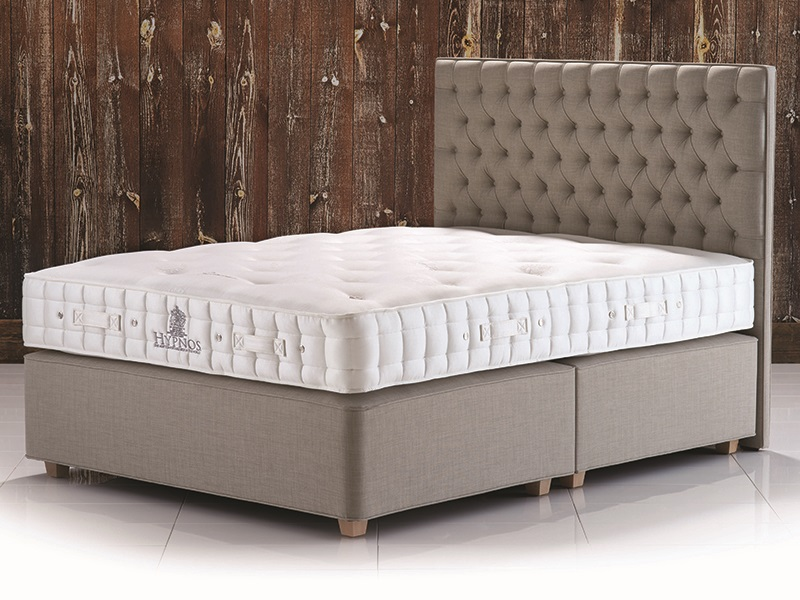 Hypnos Luxury No Turn Supreme 5\' King Size Mattress Image0 Image
