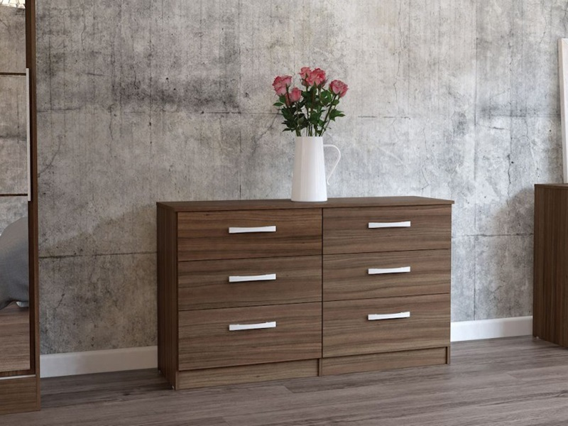 Lynx 6 Drawer Chest (Assorted Colours) Main Image