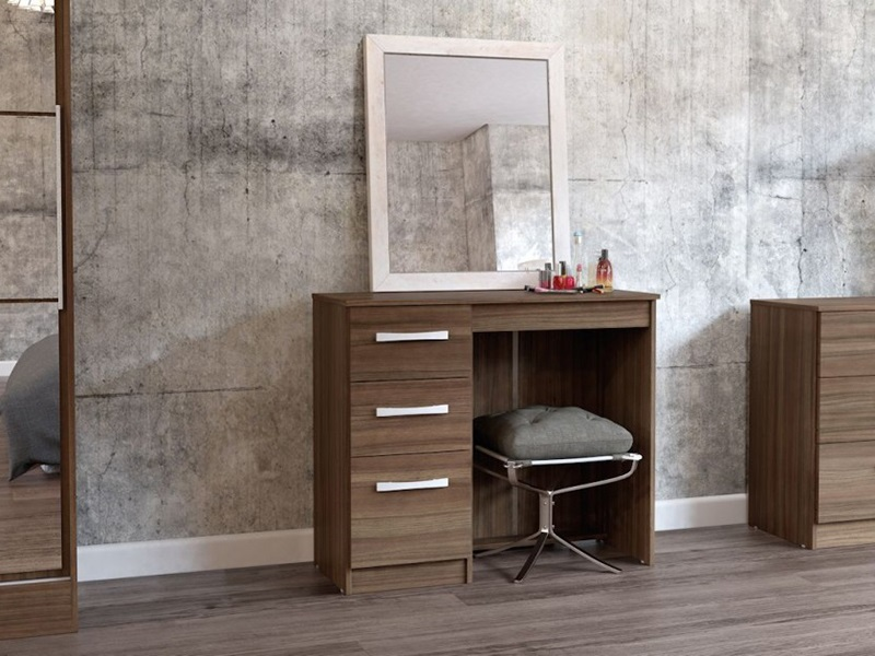 Lynx 3 Drawer Dressing Table (Assorted Colours) Main Image