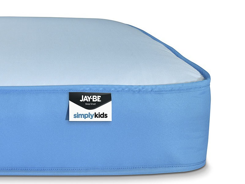 JAY_BE Simply Kids Waterproof Anti-Microbial Foam Free Sprung 3\' Single Mattress Image0 Image