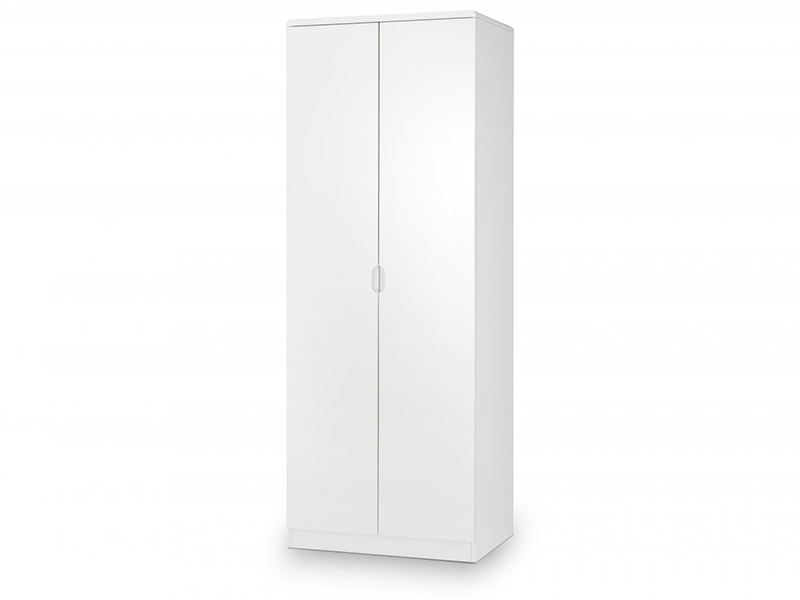 Julian Bowen Manhattan 2 Door Wardrobe White Wardrobe Image0 Image
