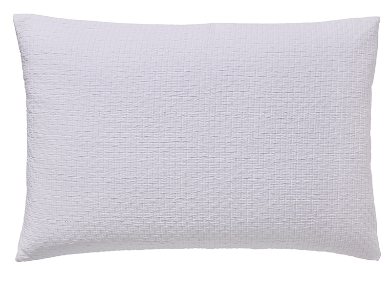 Maya Pillow Case Housewife White Main Image