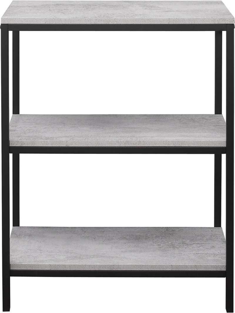 watch e6b0c cb025 Midtown 3 Tier Bookcase Grey