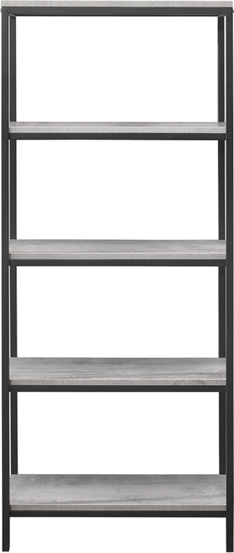 various colors d46f2 7ce3d Midtown 5 Tier Bookcase Grey