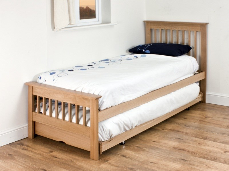 Millwood Guest Bed (Oak) Main Image