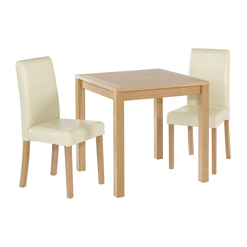 LPD Furniture Oakvale 2 Seater Set Dining Set Image0 Image