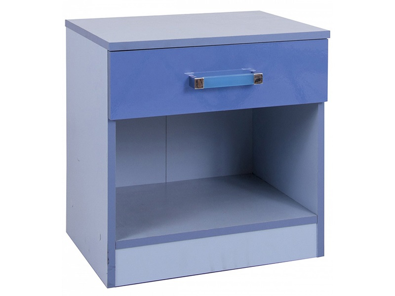 Ottawa 2-Tone Blue Bedside Chest  Main Image