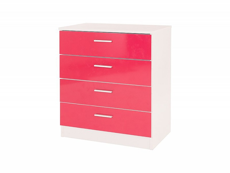 Ottawa 4-Drawer Pink Chest Main Image