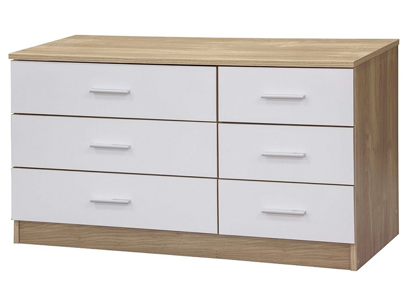 Ottawa 6-Drawer White Chest Main Image