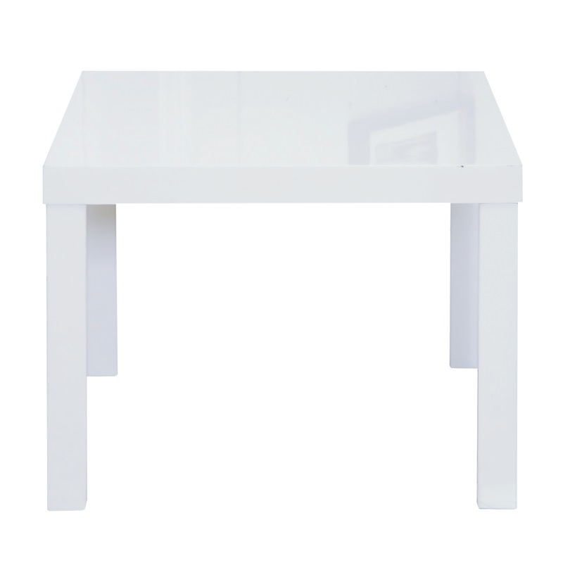 LPD Furniture Puro End Table White White Coffee Table Image0 Image