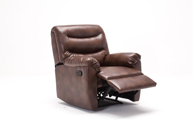 Birlea Regency Recliner Bronze Brown Chair 2\' 6 Small Single Recliner Image0 Image