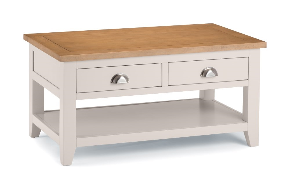 Julian Bowen Richmond Coffee Table With 2 Drawers Coffee Table Image0 Image