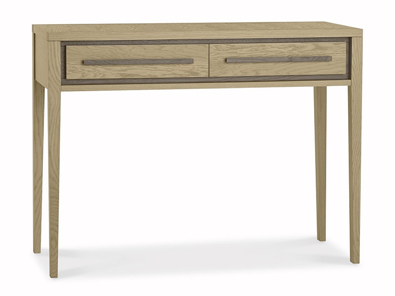 Rimini Aged Oak & Weathered Oak Dressing Table Main Image