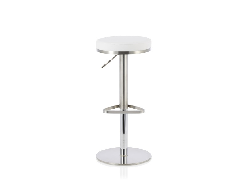 Serene Furnishings Sakura White Bar Stool Image0 Image