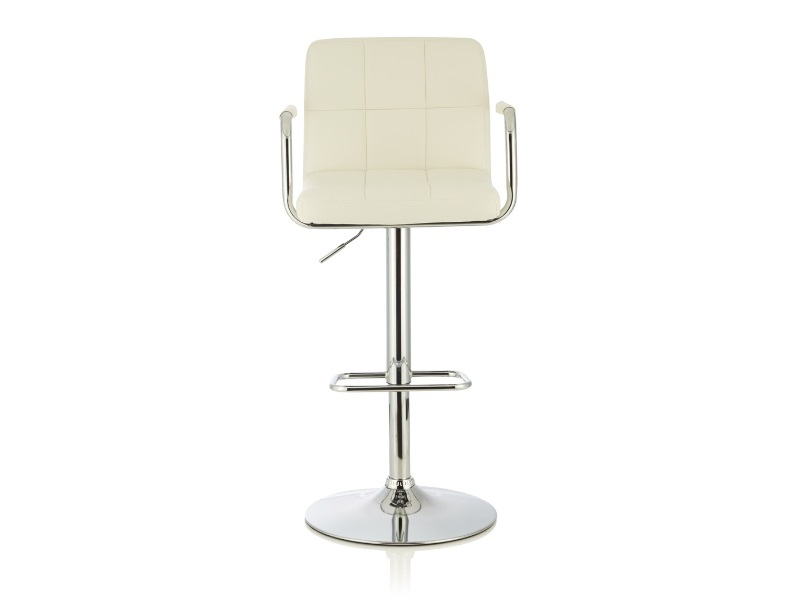 Serene Furnishings Sequoia (Set of 2) White Bar Stool Image0 Image