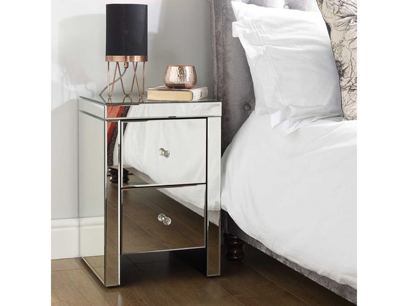Seville 2 Drawer Bedside Main Image