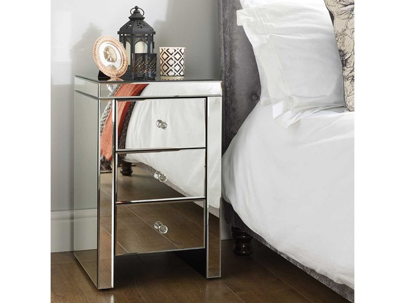 Seville 3 Drawer Bedside Main Image