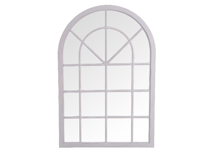 Furniture Express Small Arched Window Mirror Grey Mirror Image0 Image