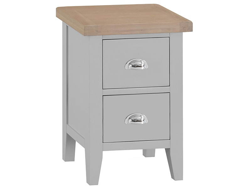 Southwold Grey Small Bedside Main Image