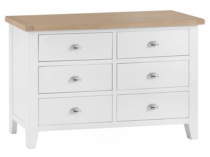 Southwold White 6 Drawer Chest Image0 Image