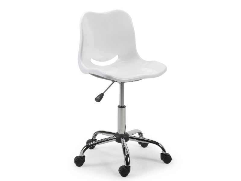 Swivel Chair White Image0 Image
